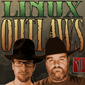 Linux Outlaws cover art CC-BY-SA 3.0