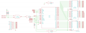 Circuit diagram for the Z80